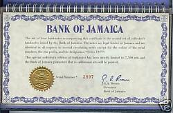 Incredibly Rare Double Set Of Jamaica Notes 1 Of A Kindfree Shipping