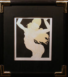 Guillaume Azoulay Destra,les Cariatides Signed Color Etching Submit An Offer