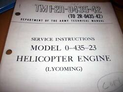 Lycoming Army O-435-23 Engine Service Manual