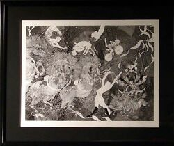 Guillaume Azoulay Le Grand Cirque Serigraph Circus Art Hand Signed Le Obo L@@k