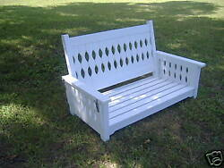 French Country 60 Porch Swing By Sfk Furniture