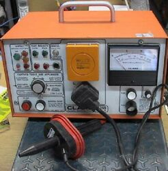 Clare A255 Series Ii Portable Appliance Tester Ce Pat T
