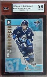 2004-05 Sidney Crosby Pre-rc Itg Update 222 6/10 Graded 9.5 Rare