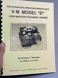 View-master Model D Focusing Viewer Book By Drt