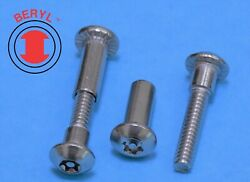 Stainless Steel Six Lobe With A Pin Sex Bolts 10-24x5/815/16 Screw -10sets