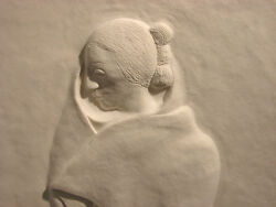R.c. Gorman Nellie Begay Hand Signed And Numbered Paper Cast Figure L@@k