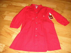Nwt New Tea Collection 3t Red Floral Dress