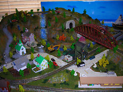 z scale one of a kind train layout 102 x