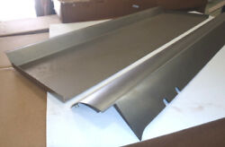 Ford Model A Pickup Bed Roll Pan Plain 1928-1931