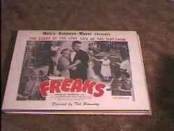 FREAKS ROLLED 22X28 MOVIE POSTER R61 TOD BROWNING RARE