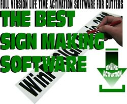 Software Sign Making Basic 2018 Titan Uscutter Mh + 600 Drivers Included
