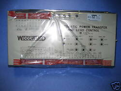 Woodward Auto Power Transfer And L.c. 9905-007 / 171-057 Genuine Fg Wilson Part
