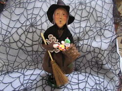 2011 Byers Choice Halloween Gingerbread Witch