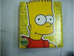 The Simpsons 10th Anniversary Trading Card Official Album No Pages-read