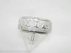 8mm Sterling Silver Hawaiian Previous-made Custom-made Allen Ring Size 4.75 Sale