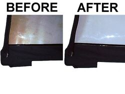 Plastic Window Cleaner Restorer And Repair Polish For Any Boat Or Sailboat Top