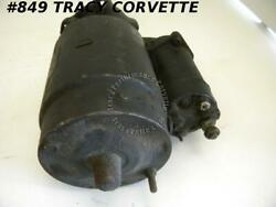 1961-1962 Chevy/corvette Used Orig 1107889 Delco Remy Starter Car And Truck