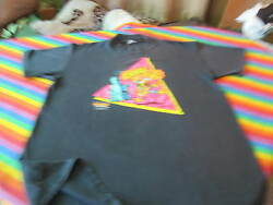 Mother Goose And Grimm Vintage 80s Rock And Roll Comic Strip Tee Shirt Crank It