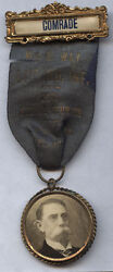 1911 Lewisville 84th Indiana Infantry Celluloid Badge