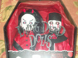 Sinister Minister And Bad Habit Limited Edition 666 Red Living Dead Dolls