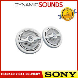 Sony Xs-mp1621w 16cm 140w White Marine Speakers For Boats, Bathrooms, Kitchens