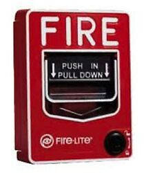 Aes 720p Hd Emergency Fire Alarm Pull Station Hidden Nanny Spy 30 Day Battery