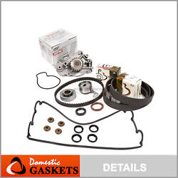 Timing Belt Npw Water Pump Valve Cover Kit Fit 92-96 Honda Prelude Dohc H23a1