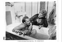 Shelley Winters Bathes Barechested Don Stroud Vintage Photo Bloody Mama