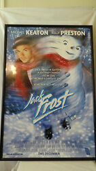 Warner Brother 1998 Jack Frost Michael Keaton And Kelly Preston Lithograph F210