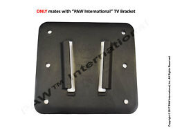 Polymer BLACK Wall Mount for Campers and RV#x27;s by PAW International