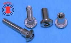Stainless Steel Six Lobe With A Pin Sex Bolts 10-24x1/20.625 - 10sets