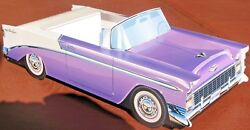 6 Classic Chevy Cardboard Cars Kids Food Tray Box Table Center Party Favor