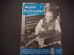 The Model Railroader Magazine , July 1951, Hand Powered Turntable, 0-4-0t Loco