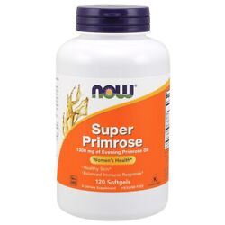 Now Super Evening Primrose Oil 1300 Mg 120 Sgels Womenand039s Health Fresh Usa Made