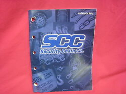Used Security Chain Co. Tire Chains Slings Straps Etc Catalog 1998 N-158