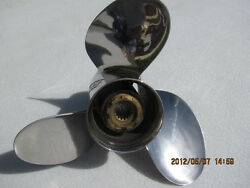 Honda Prop Stainless 13and1/4 X 15 08m60-zw7-b00 Left Hand