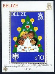 Belize 1980 Int. Year of the Child 1st issue set 2 sheets mint (2014/02/10#7)
