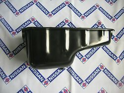 Datsun 1200 Late A12 - A15 Oil Pan Genuine For Nissan B310 B120 C120 C22 Sunny