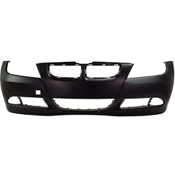 Front Bumper Cover For 2006 Bmw 325i 07-08 328i With Fog Lamp Holes 51117140859