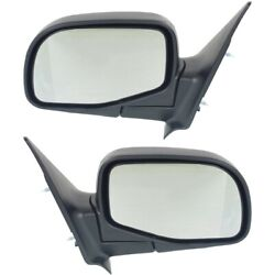 Manual Mirror Set Of 2 For 1998-2005 Ford Ranger 1996-2005 B2300 Left And Right