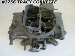 1955-80 Holley 4224s 0248 660 Cfm Tunnel Ram Carb Needs Rebuilding Before Using