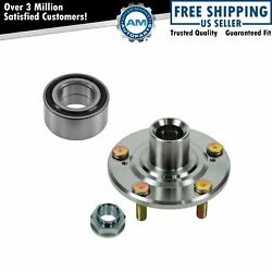 Front Wheel Hub And Bearing New For Honda Element Crv