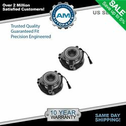 Wheel Bearing And Hub Front Pair Set Of 2 For Land Rover Discovery Series Ii