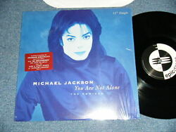 Michael Jackson Usa America Press 1995 Nm 12 Your Are Not Alone Send From Japan