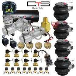 B Fbss Air Suspension Bags Valves Tank Pswitch Airline Compress Switch Cross
