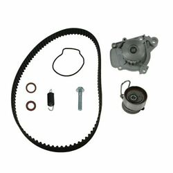 Engine Timing Belt Kit W/ Water Pump Crank And Cam Seals For Civic Ex Dx Lx 1.7l