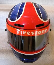 INDY 500 DRIVER AND OWNER BRYAN HERTA RACE USED  HELMET
