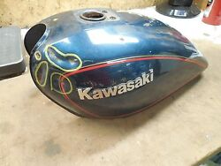 Kawasaki Kz440 Kz440ltd 440 Fuel Gas Petrol Tank Assembly 1980 1981 1982 1983