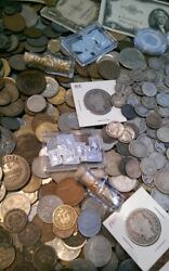 ☆☆ 1/3 Pound Old Estate Coin Lots ☆ Gold / Silver / Early Us / Roman / Proof ☆☆