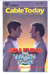 1983 Cable Today Article On William Shatner And Star Trek